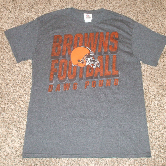 Gray Cleveland Browns Dawg Pound T Shirt fc6dfe9cd